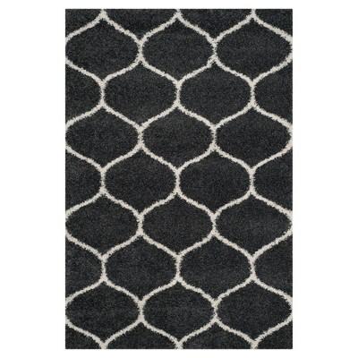 Dark Gray/Ivory Abstract Loomed Area Rug - (5'1 X7'6 )- Safavieh®