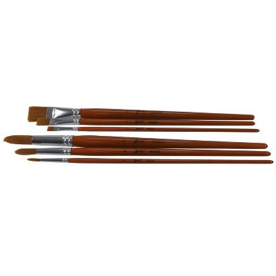 4 Pack Royal Langnickel Wood Hand Foam Brushe Set