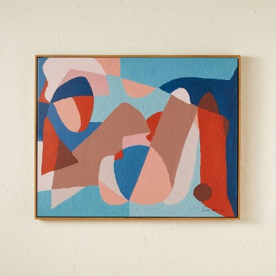 """30"""" x 24"""" Shapes Framed Wall Art - Opalhouse™ designed with Jungalow™"""