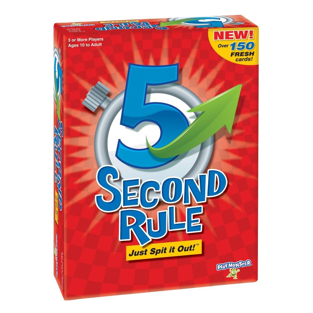 5 Second Rule Board Game, Board Games