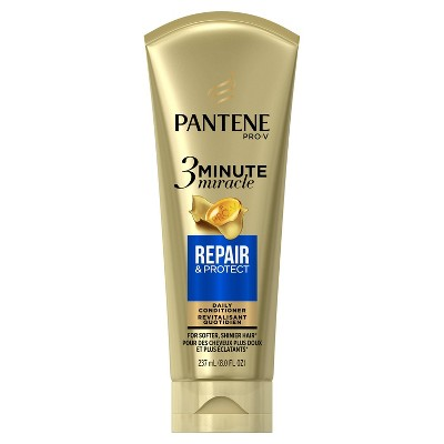 Shampoo & Conditioner: Pantene Pro-V 3 Minute Miracle Repair & Protect