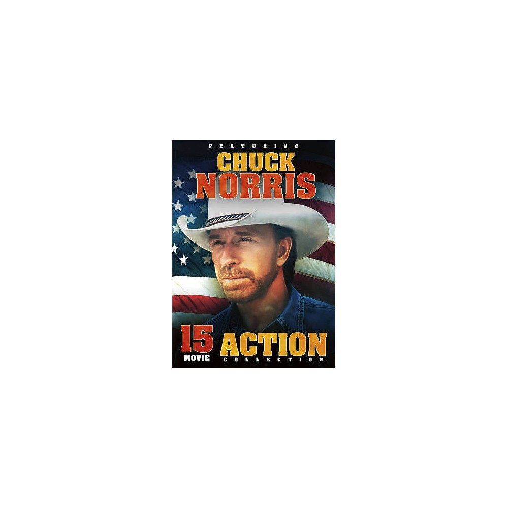 15 Film Action Featuring Chuck Norris (Dvd)