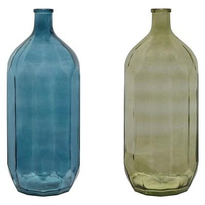 Glass Vintage Bottle - 2 Colors - 3R Studios