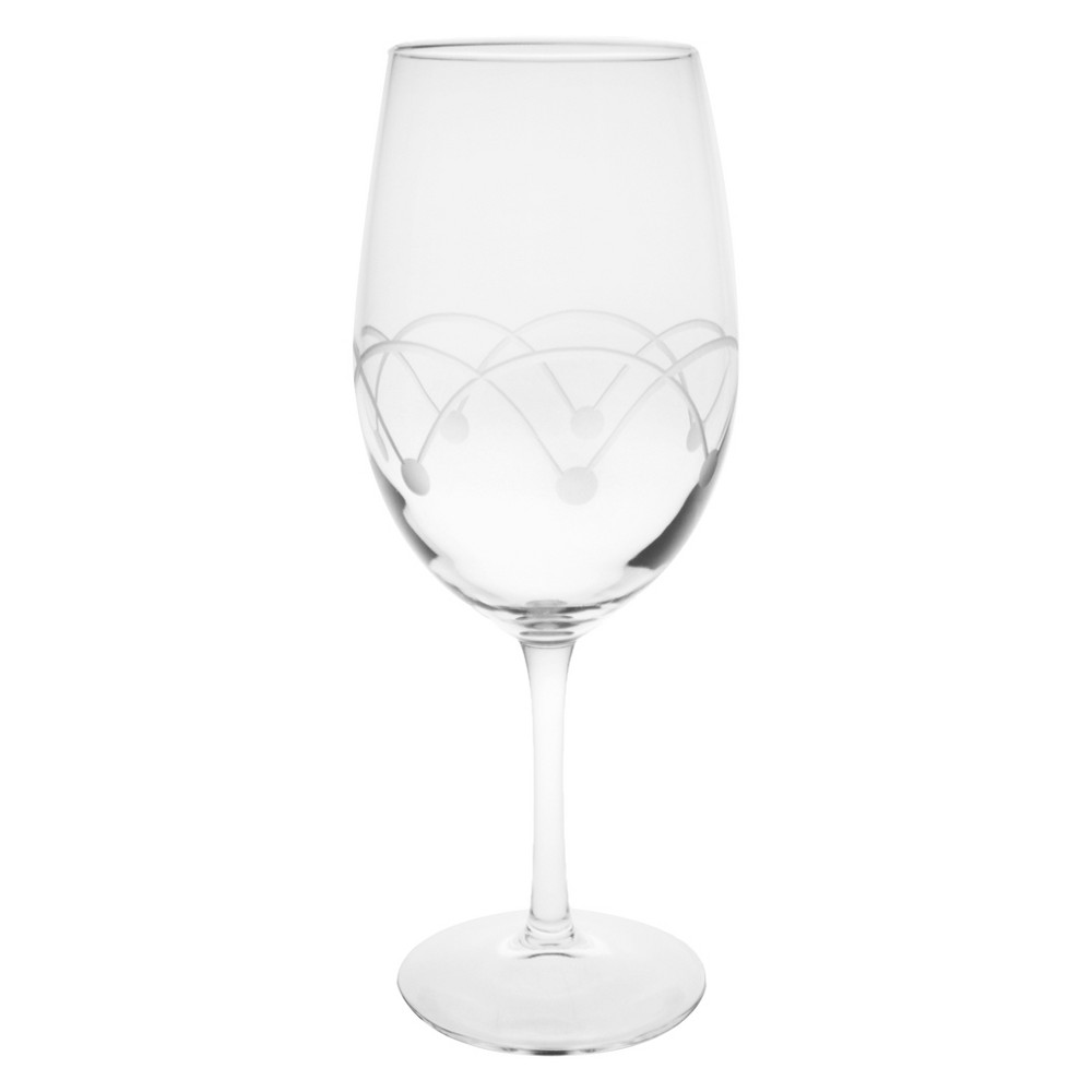 Image of 18oz 4pk Disco All-Purpose Wine Glasses - Rolf Glass, Clear