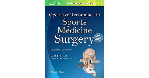 Operative Techniques in Sports Medicine Surgery (Hardcover) - image 1 of 1