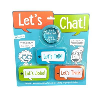 Open The Joy - Let's Chat 3-1 Grab–n-Go Conversation Starters!