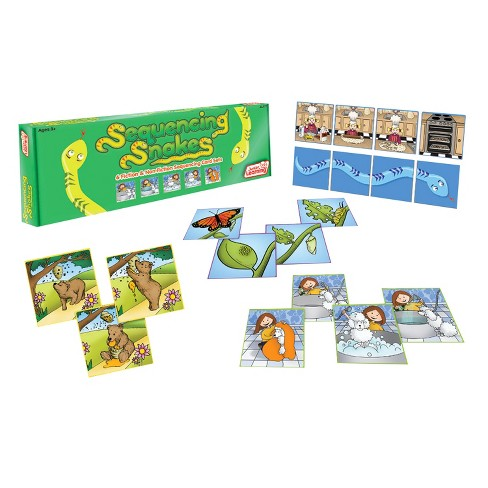 Junior Learning® Sequencing Snakes - Develop Comprehension & Oral Language - image 1 of 1