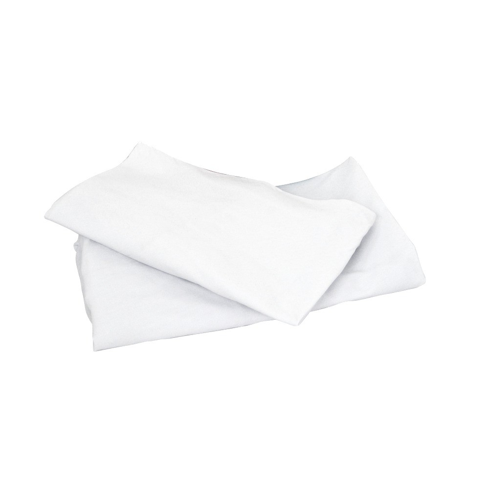Image of Badger Basket Oval Elite Bassinet Sheets - 2-pk. - White