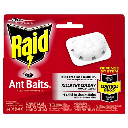Raid Ant Baits III, 4ct - image 1 of 3