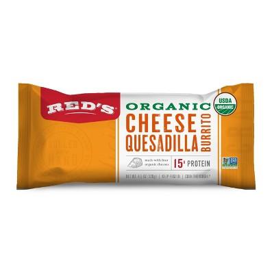 Red's Organic Cheese Quesadilla Frozen Burrito - 4.5oz