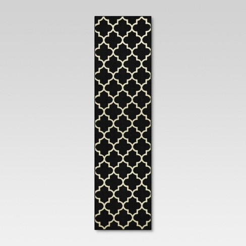 Fretwork Design Rug - Threshold™ - image 1 of 3