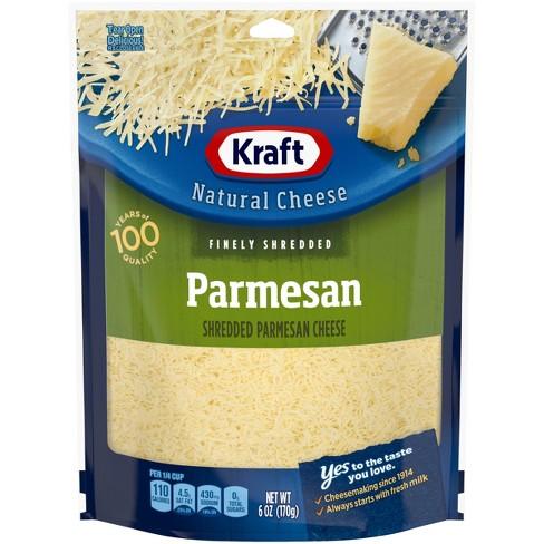 Kraft Shredded Parmesan Cheese - 6oz - image 1 of 4