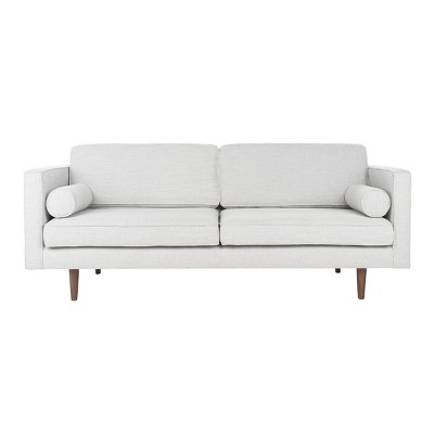 Hurley Mid-Century Sofa Light Gray - Safavieh