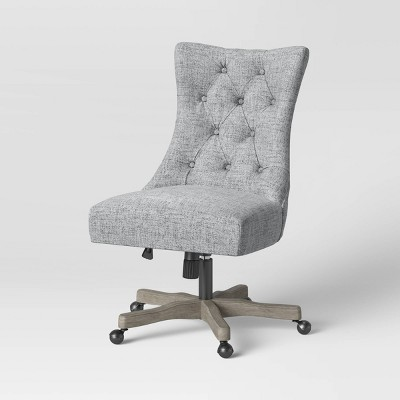 Atkins Tufted Back Office Chair Light Gray - Threshold™