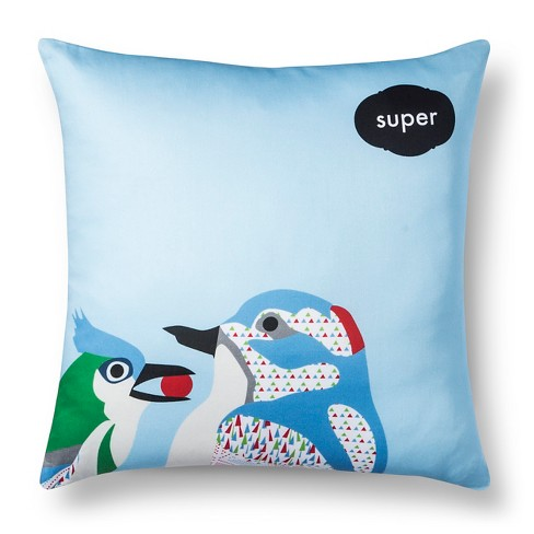 "Artwork Series: 'Super' by Stephanie Specht Throw Pillow (18""x18"") - AiR - image 1 of 1"
