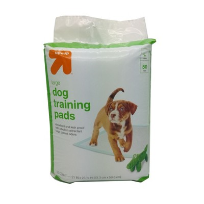 Puppy and Adult Dog Training Pads - L - 50ct- up & up™