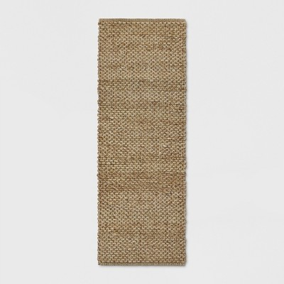 "2'3""X7' Annandale Runner Rug Solid Natural - Threshold™"