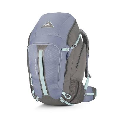 High Sierra Pathway 50L Mercury Haze Sports Bag - Blue/Gray