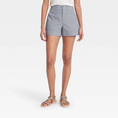 Women's High-Rise Shorts - A New Day™ - image 1 of 3