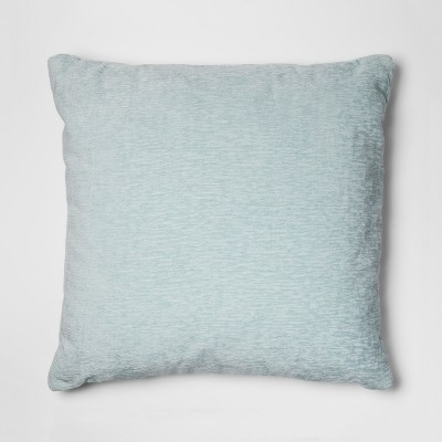 Blue Chenille Oversize Square Throw Pillow - Threshold™