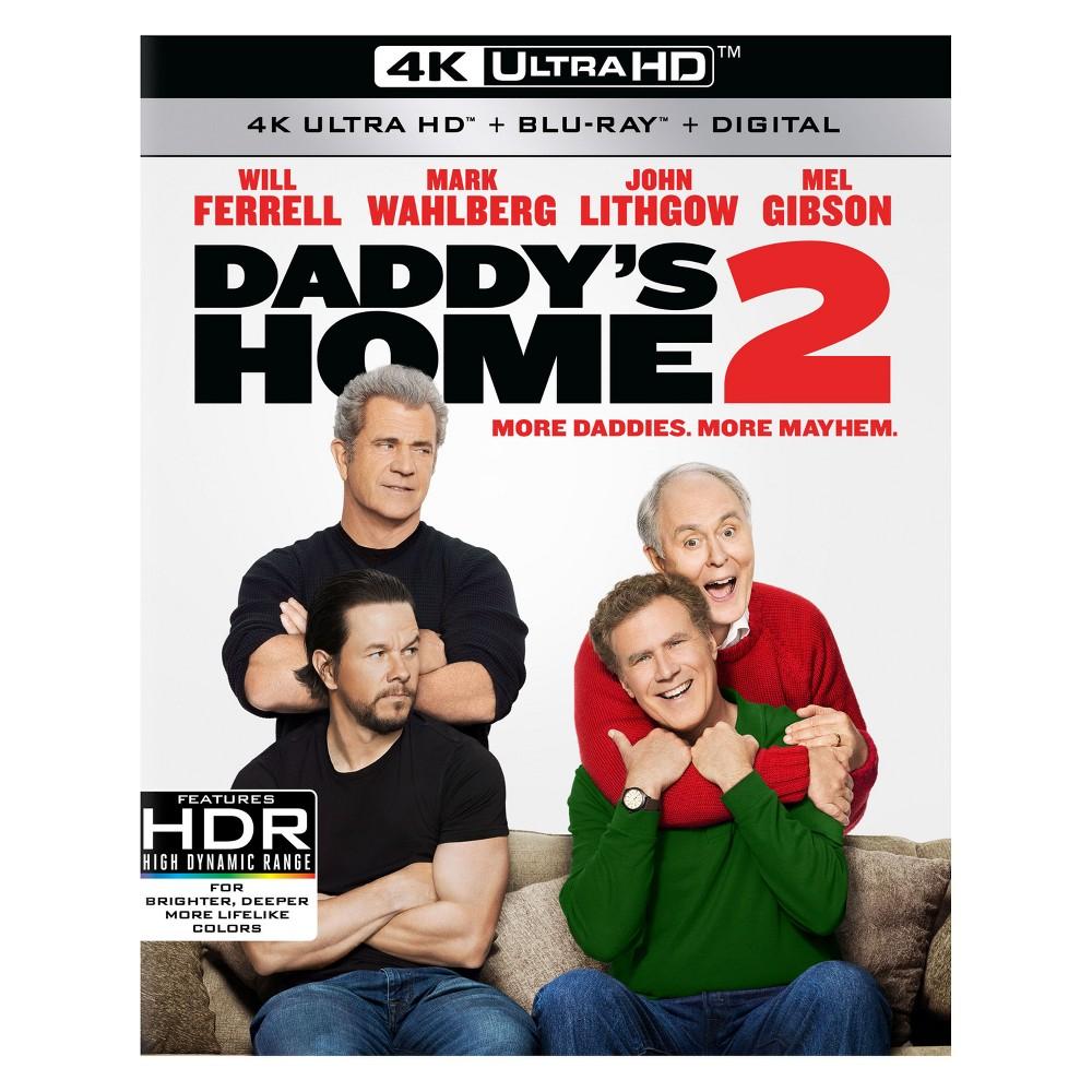 Daddy's Home 2 (4K/Uhd + Blu-ray + Digital)