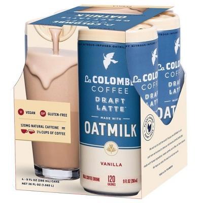 Coffee Drinks: La Colombe Draft Latte Oatmilk