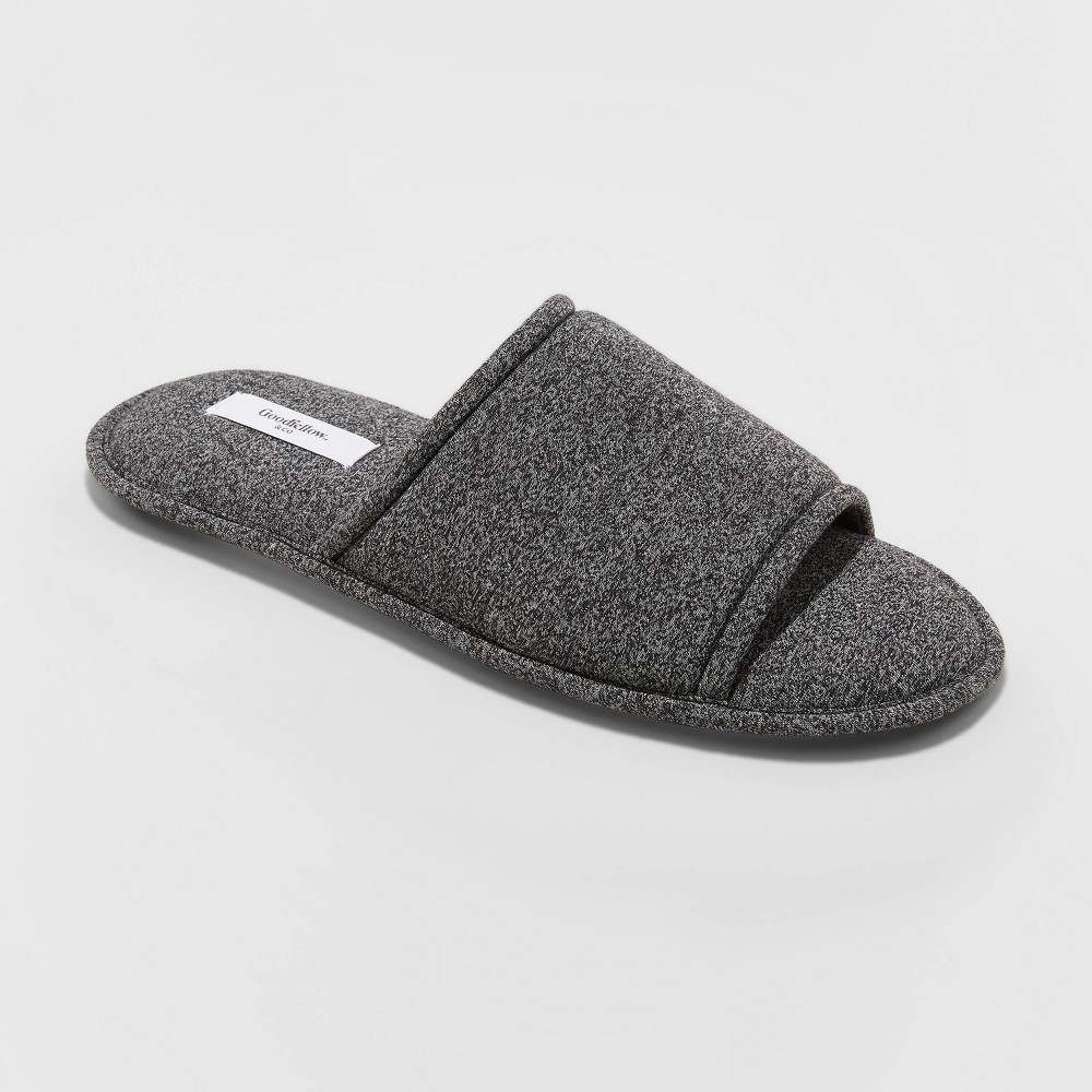 Image of Men's Lonzo Slide Slippers - Goodfellow & Co Gray L, Men's, Size: Large
