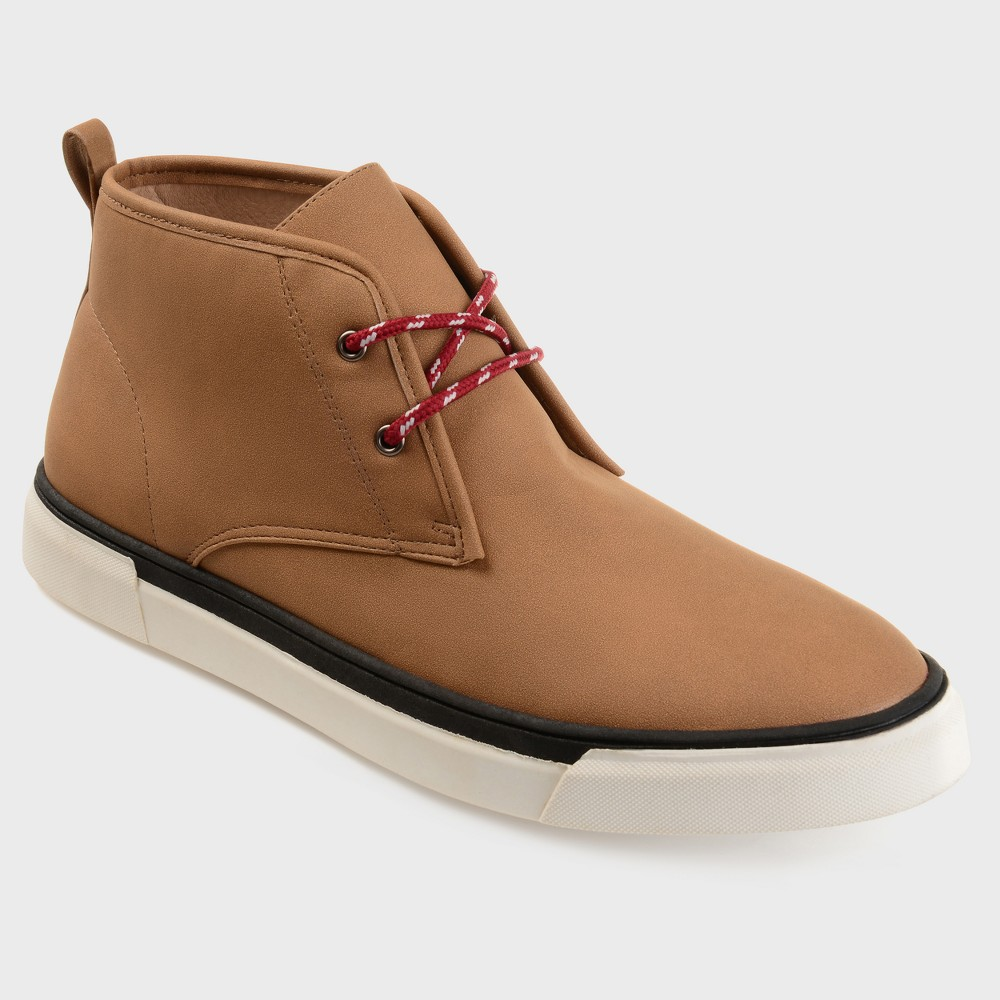 Men's Vance Co. Clay Faux Suede Lace-Up Casual Chukka Boot - Taupe (Brown) 8.5
