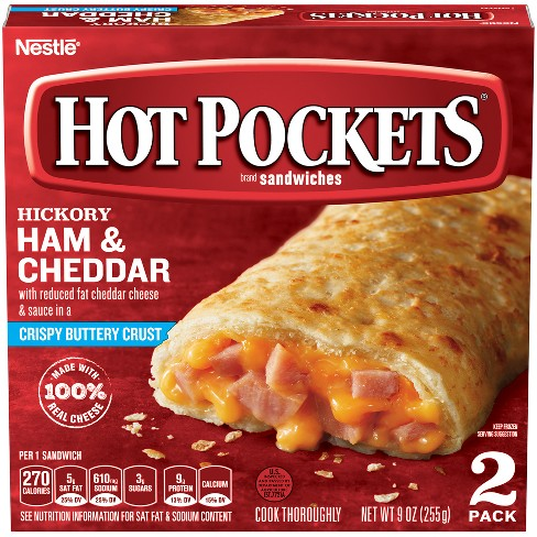 Frozen Hot Pockets Ham & Cheese - 2pk - image 1 of 4