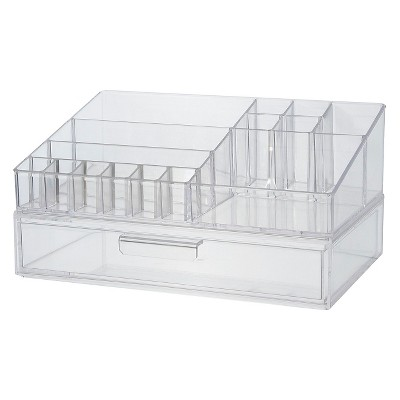 US Acrylic Cosmetic Organizer with Stackable Drawer