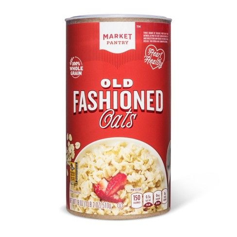 Old-Fashioned Oats - 18oz - Market Pantry™ - image 1 of 1