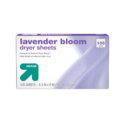 Fabric Softener Dryer Sheets Lavender - 105ct  - up & up™