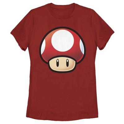 Women's Nintendo Mario Mushroom T-Shirt