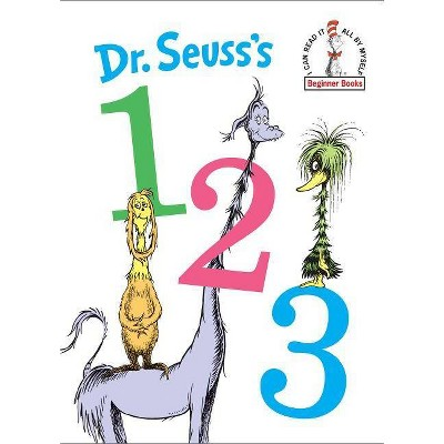 Dr. Seuss's 1 2 3 - (Beginner Books)(Hardcover)