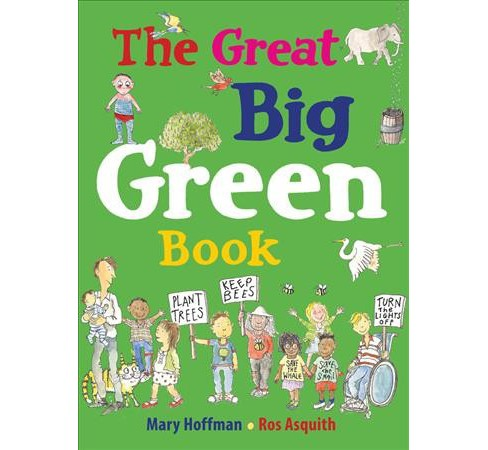 Great Big Green Book -  Reprint by Mary Hoffman (Paperback) - image 1 of 1