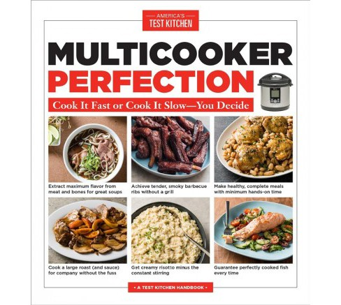 Multicooker Perfection : Cook It Fast or Cook It Slow--You Decide -  (Paperback) - image 1 of 1