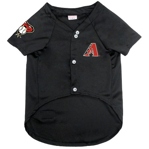Arizona Diamondbacks Pets First Pet Baseball Jersey - Black XXL   Target 82d5166f6