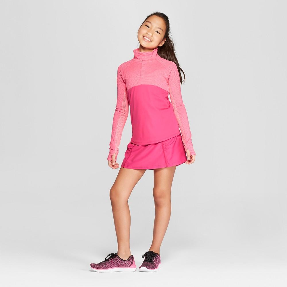 Girls' Woven Skort - C9 Champion Pink XS