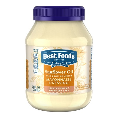Mayonnaise: Best Foods Sunflower + Lemon