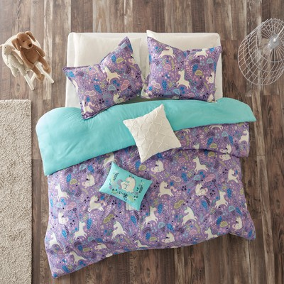 Laila Cotton Printed Duvet Cover