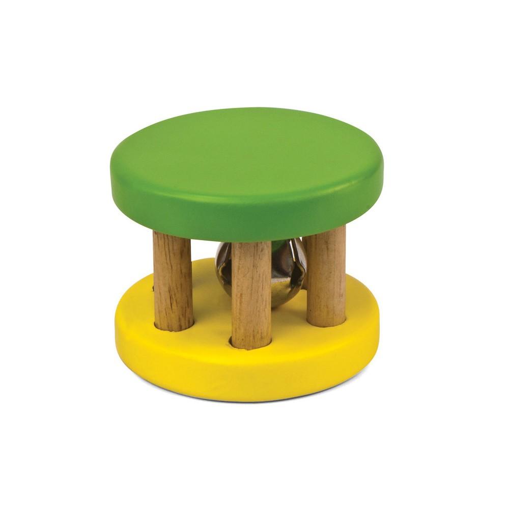 Hohner Green Tones Rattle Roller Bells, Multi-Colored