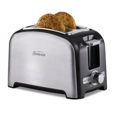 Sunbeam 2 Slice Wide-Slot Toaster - Brushed Stainless Steel TSSBTRSB04