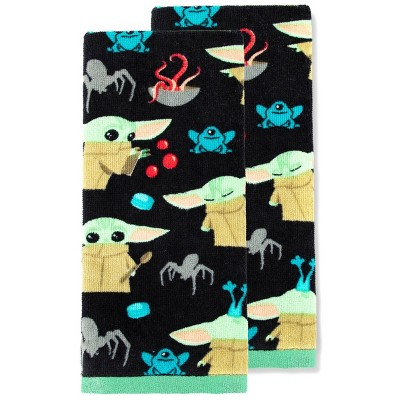 2pk Star Wars: The Mandalorian The Child Halloween Kitchen Towels