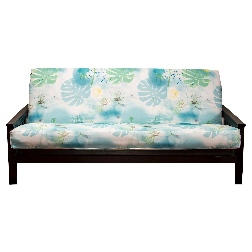Image of Cubana Full Futon Cover Blue/Green - Siscovers