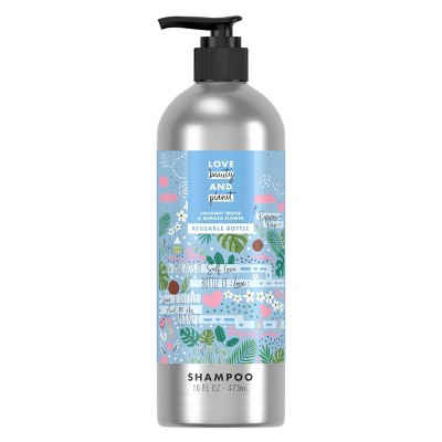 Love Beauty and Planet Coconut Water & Mimosa Flower Shampoo in Reusable Pump Bottle - 16 fl oz