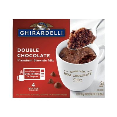 Baking Mixes: Ghirardelli Mug Brownie Mix