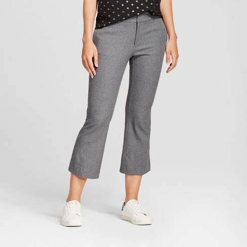 Women's Kick Flare Bi-Stretch Twill Pants - A New Day™ - image 1 of 3