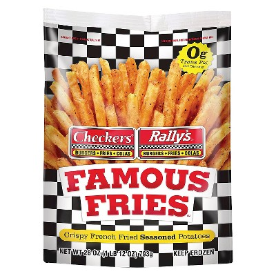 Checker's Crispy Frozen Seasoned Fries - 28oz