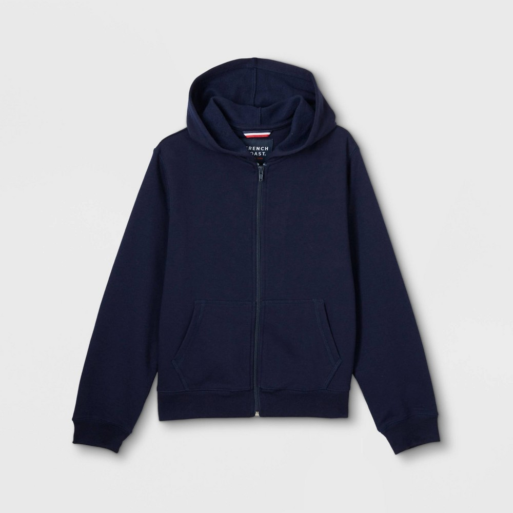 French Toast Boys' Fleece Hoodie Uniform Sweatshirt - Navy S, Boy's, Size: Small, Blue was $16.98 now $7.64 (55.0% off)
