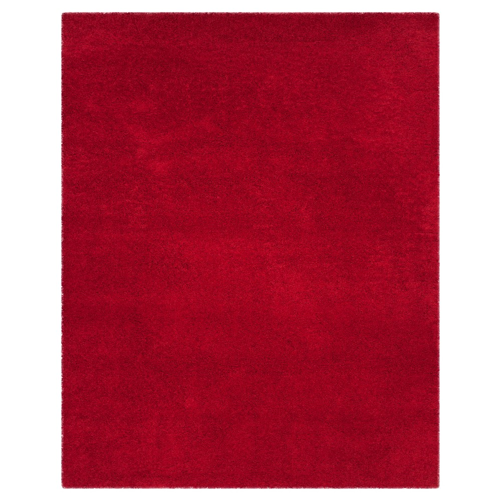 Red Solid Loomed Area Rug - (8'6x12') - Safavieh